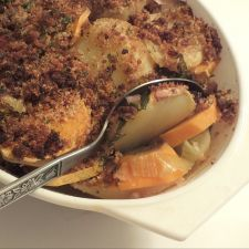 Scalloped 2 Potato Gratin