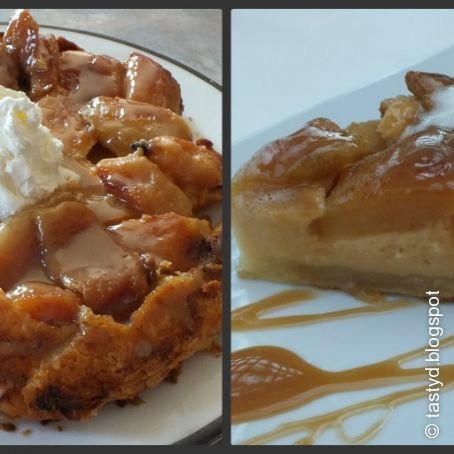 Caramel Apple Tatin Cheesecake
