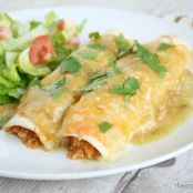 The Best Tex Mex Chicken Enchiladas