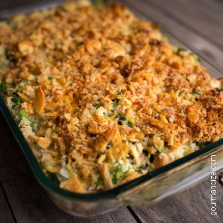 Broccoli, Chicken and Rice Casserole