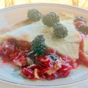Classic Cherry Blackberry Pie