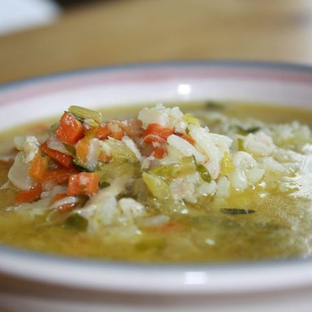 Easy Chicken Rice Soup