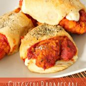 Chicken Parmesan Crescents