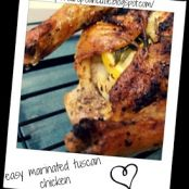easy marinated tuscan chicken