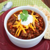 Gourmet Sirloin Chili Recipe