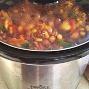 Crock-Pot Veggie Chili - Step 1