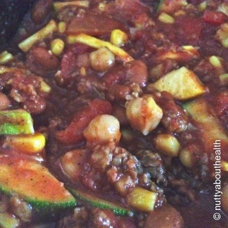 Crock-Pot Veggie Chili