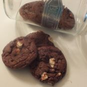 Monster Size Rocky Road Chocolate Chip Cookie