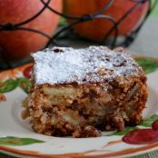 Mrs. Cheney's Apple Knobby Cake