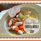 Panera Bread Chicken Noodle Soup
