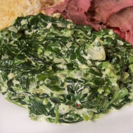 Creamed Spinach n