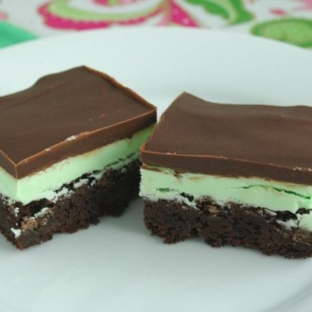 Creme De'Mint Brownies