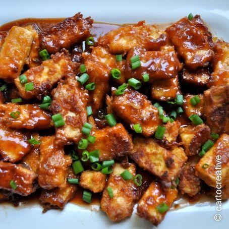 Crispy BBQ Tofu Recipe - (4/5)