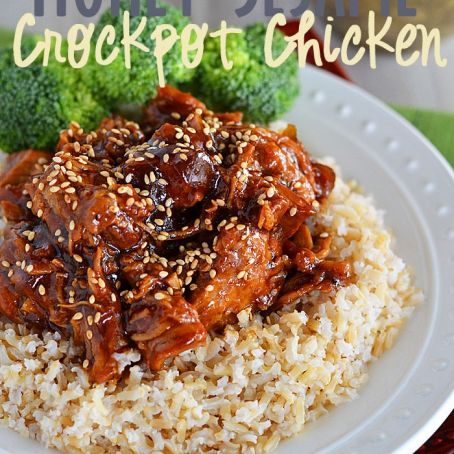 Crockpot Honey Sesame Chicken