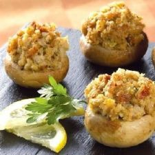 Classic Mini Stuffed Mushrooms