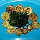 Squash And Kale Salad