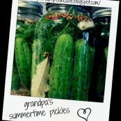 grandpa's summertime pickles