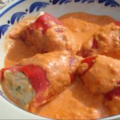 Piquillo peppers stuffed with cod 'brandade' (dairy and gluten free)