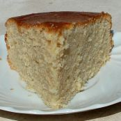 Goat Milk Yogurt Cake with cardamom and coconut butter