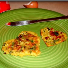 Easy Spicy Egg Omelette