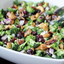 Delicious Broccoli and Sunflower Seed Salad