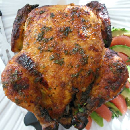 Mexican & Pepper Jelly Roasted Chicken