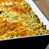 Broccoli & Wild Rice Casserole