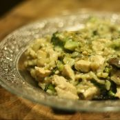 Broccoli & Wild Rice Casserole with Chicken