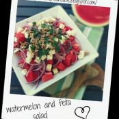 serbian watermelon and feta salad
