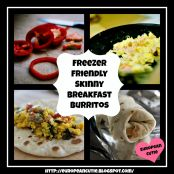 Freezer Friendly Skinny Breakfast Burritos