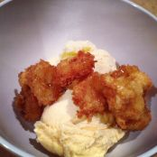 Pure Cane Sorghum Fried Bananas