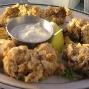 Golden Fried Oysters
