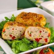 Cutlets with sweet pepper