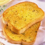 Garlic bread toast