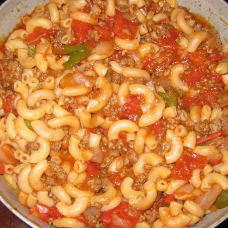 Pasta And Beef Goulash Recipe — Dishmaps