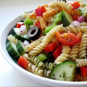 Fresh Greek Pasta Salad