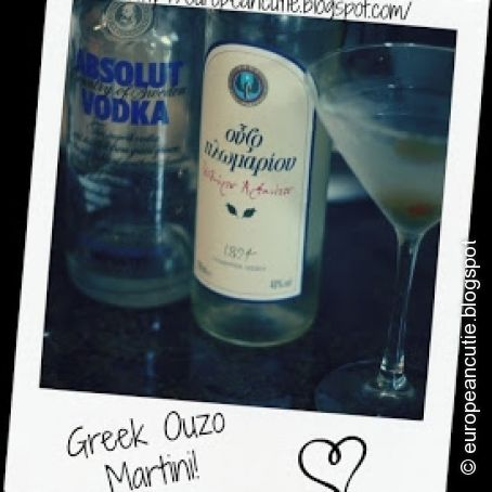 Greek Ouzo Martini