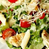 Grilled Chicken Cesar Pasta Salad