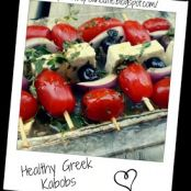 Healthy Greek Kabobs