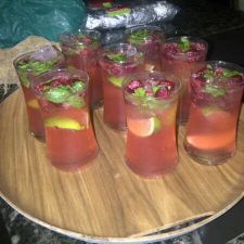 Raspberry Love Potion Mojito