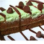 Dessert-  Mint Cheesecake