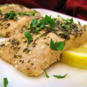 Fish-  Simply delicious Baked Salmon