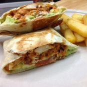 Savories-  cheesy Tandoori Wraps