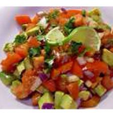 Side-  Tomato & Avocado Salsa