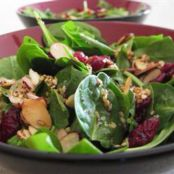 Salads-  Cranberry, Almond & Spinach