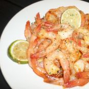 Chili Garlic Lime Shrimp