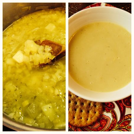 Winter Warming Leek and Potato Soup