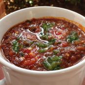 Christmas-Style Turkey Chili
