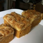 Pumpkin Cream Maple Coffee Cake