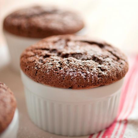 Warm Brownie Pudding Cups